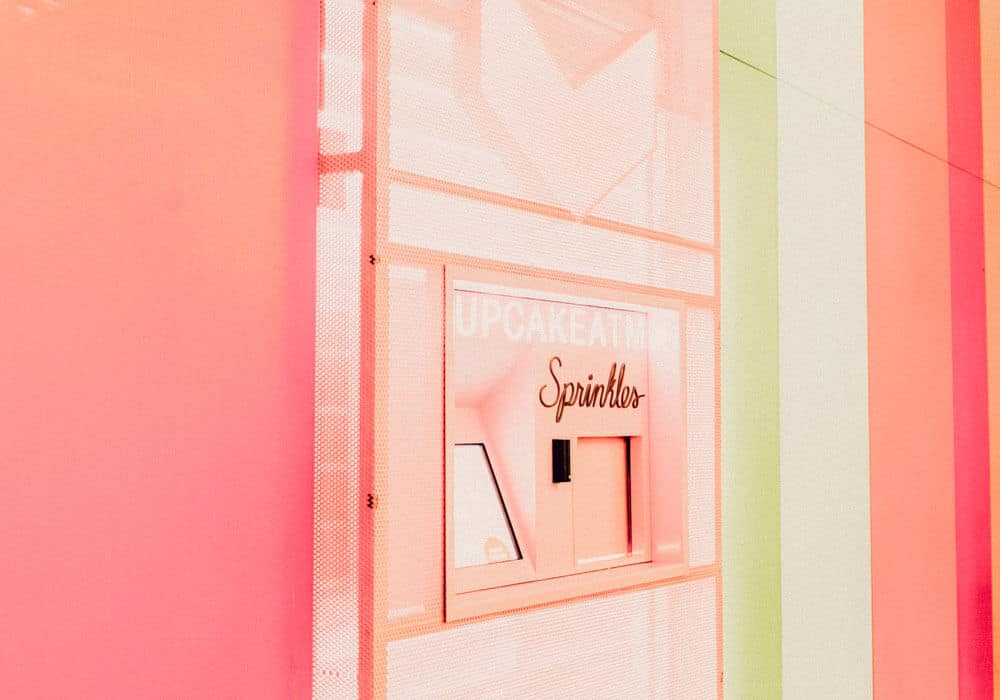 Sprinkles: The cupcake ATM