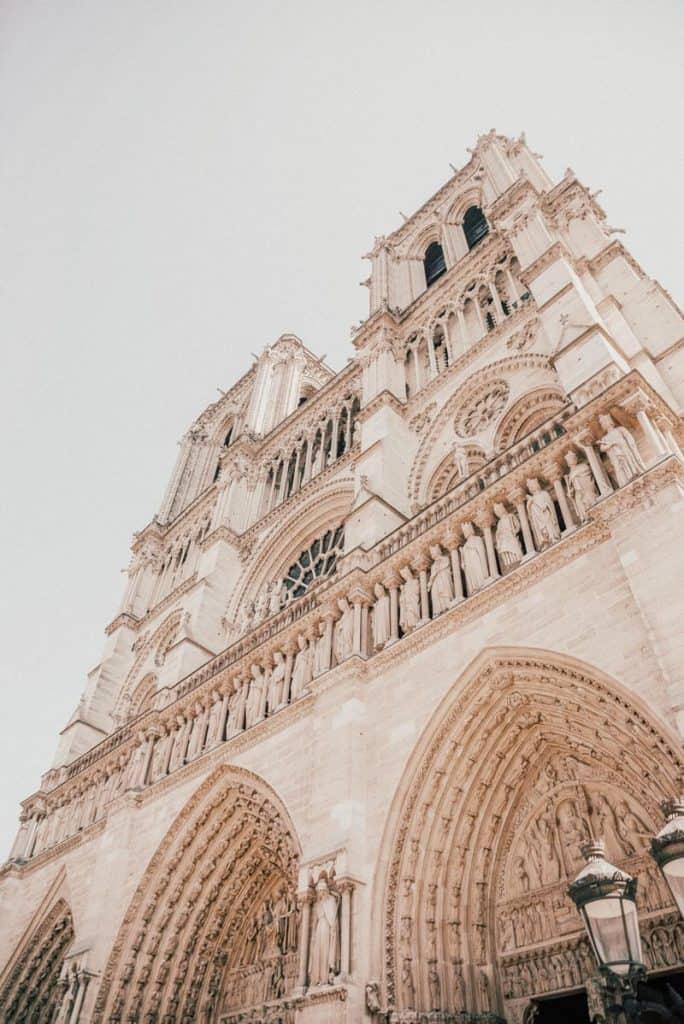Notre Dame in Paris.