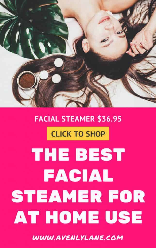 The Best Facial Steamer for at Home Use - Avenlylane.com