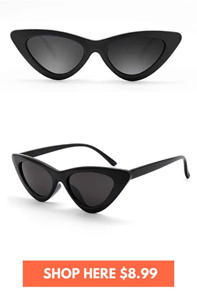 Vintage cat eye sunglasses on amazon!