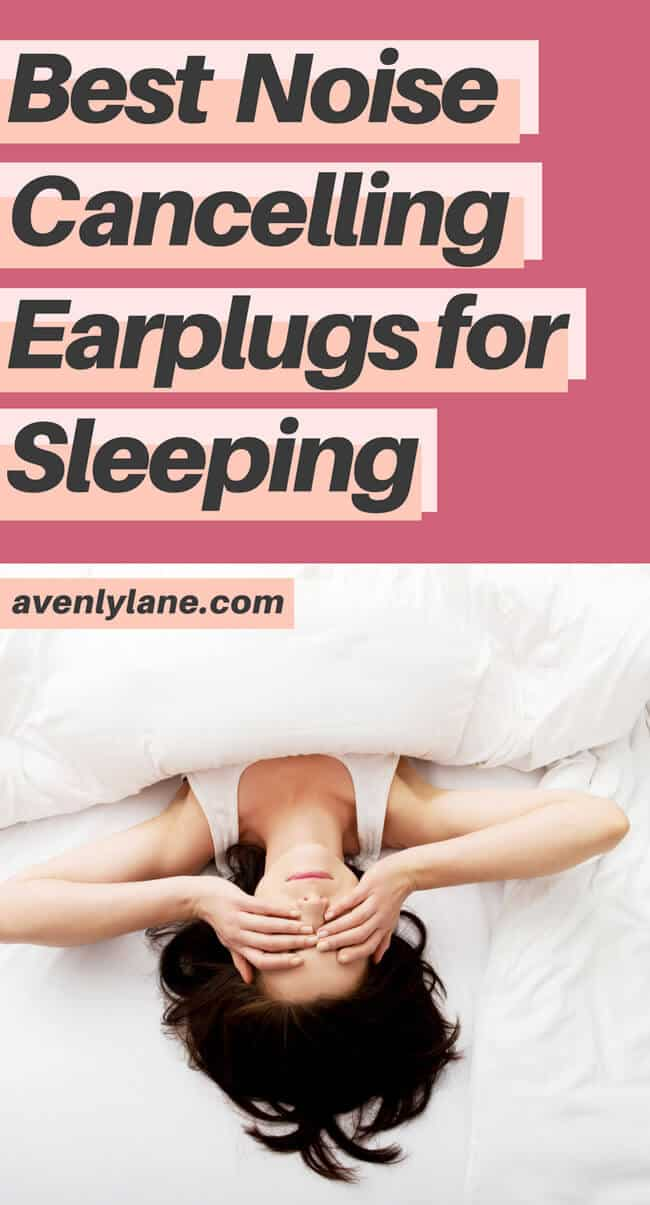Best noise cancelling earplugs for sleeping! This is one of the best travel tips I have found for sleeping! These noise cancelling earplugs also work great for snoring. #earplugs #traveltips #travel #sleep #wellness #avenlylane www.avenlylane.com