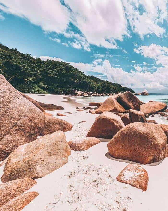 Best Beaches in Praslin Island Seychelles Anse Lazio, Seychelles | Praslin