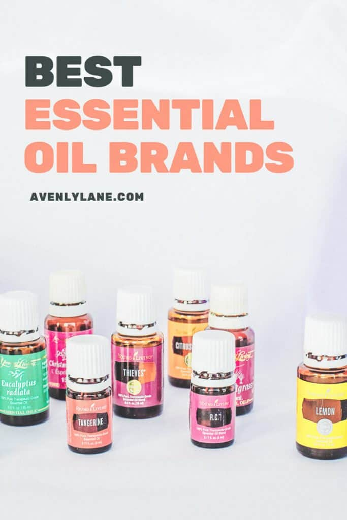 The Best Quality Essential Oil Brands on the market right now! Which top essential oil brand is your favorite? #essentialoils #essentialoil #avenlylane #wellness #skincare #health