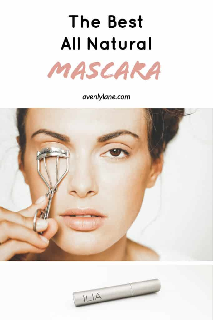 Best All Natural Mascara by Ilia Beauty - This is the best natural mascara I have tried so far and the best natural looking mascara as well. #avenlylane #mascara #naturalbeauty #beauty #makeup #organic