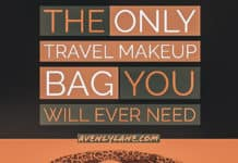 Best Travel makeup Bag