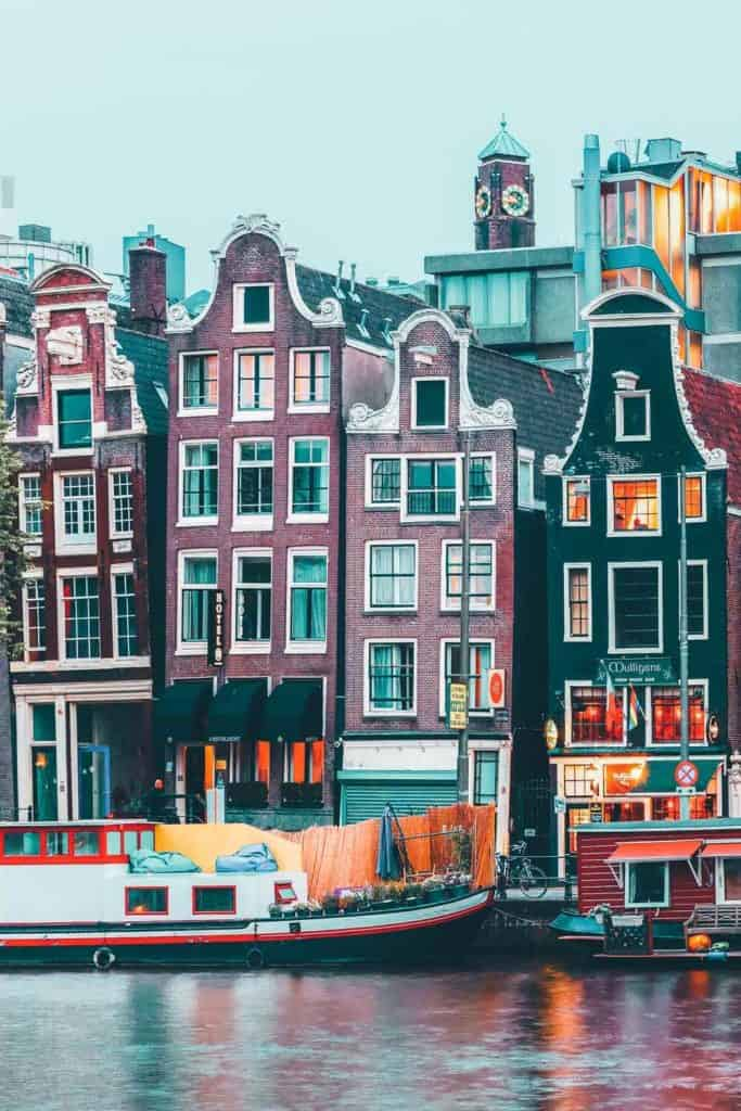 There are so many fun things to do in Amsterdam and the canals are just one of them! This gorgeous city features over 50 miles of manmade canals with over 1500 bridges crossing over them.