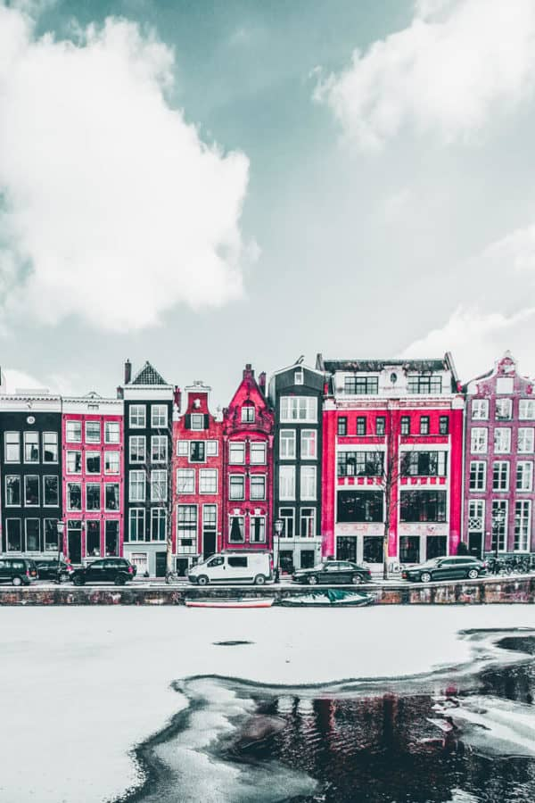 There are so many fun things to do in Amsterdam and the canals are just one of them! This gorgeous city features over 50 miles of manmade canals with over 1500 bridges crossing over them. #AVENLYLANETRAVEL #AVENLYLANE #netherlands #amsterdam #beautifulplaces #travelinspiration #europe