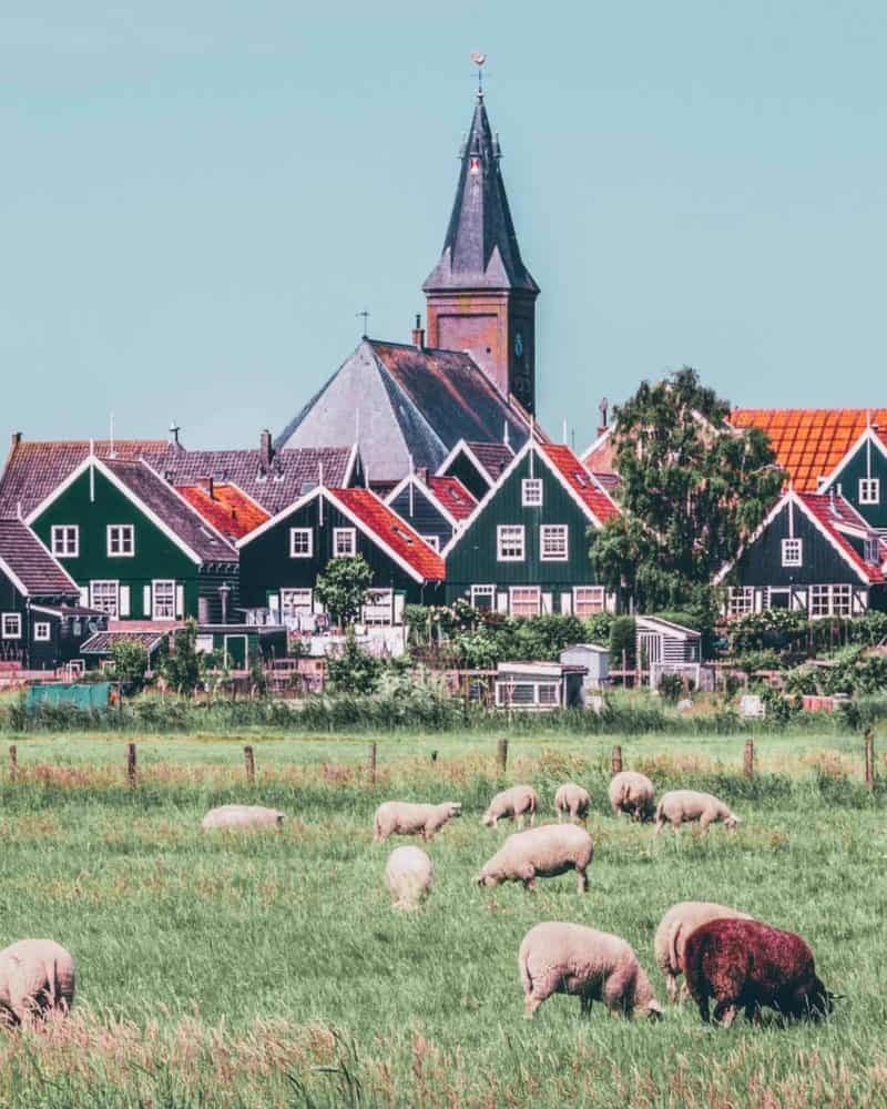 Marken fishing village in the Netherlands! Check out the top things to do in the Netherlands!