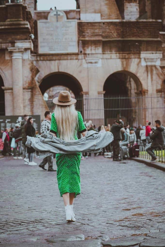 The Perfect Dress to Wear to Rome in November!