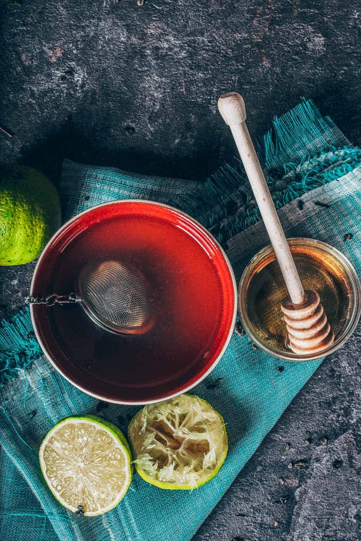 Rosehip and Hibiscus Tea
