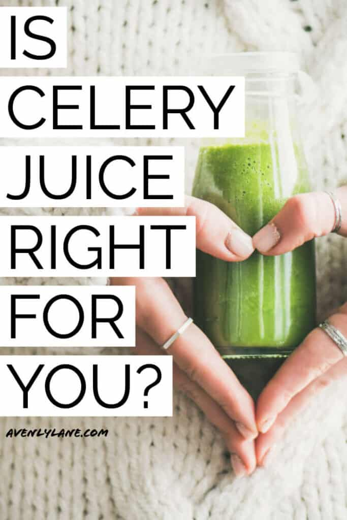 Celery Juice Benefits After 4 Months of Drinking Celery Juice