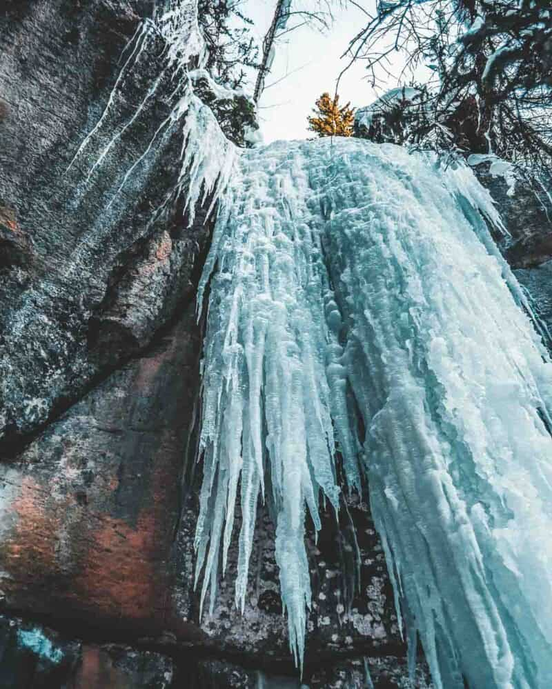 Maligne Canyon Trail in Jasper National Park.