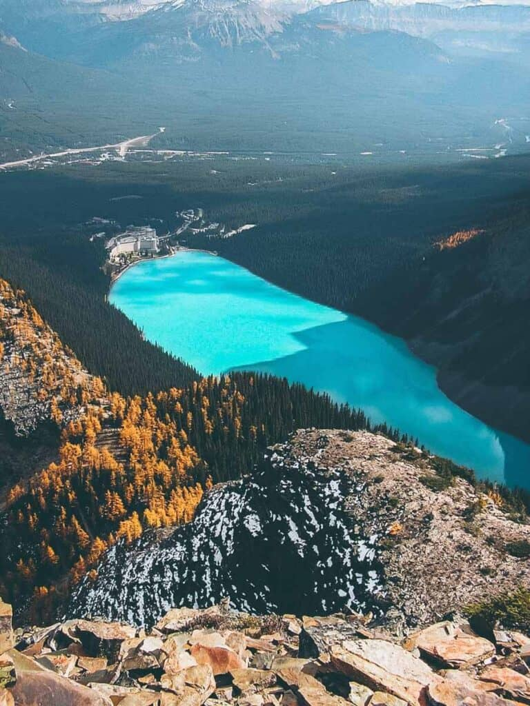 Lake Louse in Banff National Park