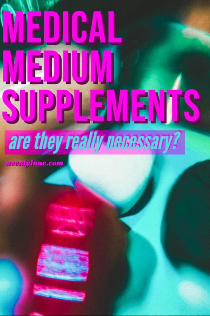 Medical Medium Supplements
