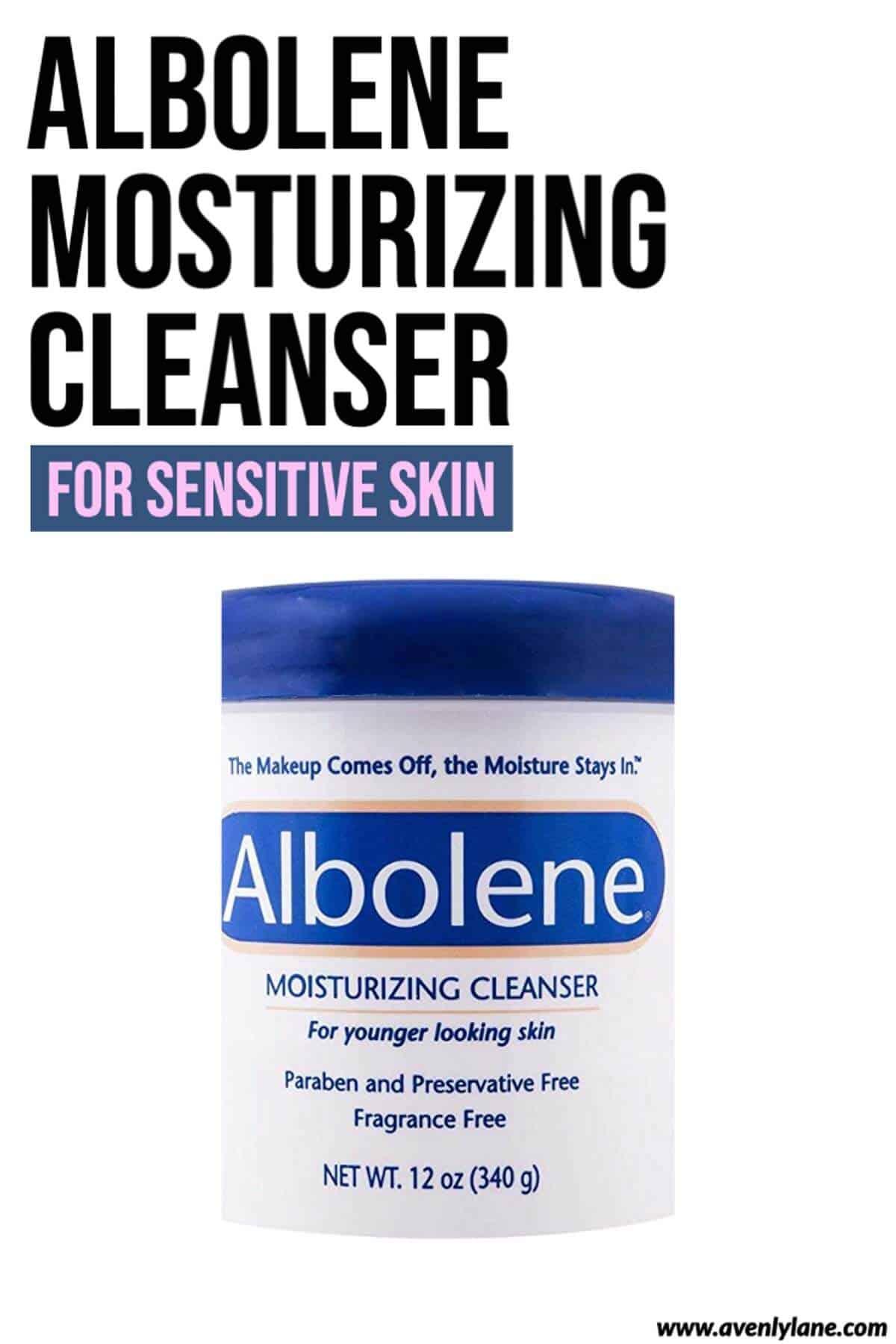 Albolene Moisturizing Cleanser for Sensitive Skin