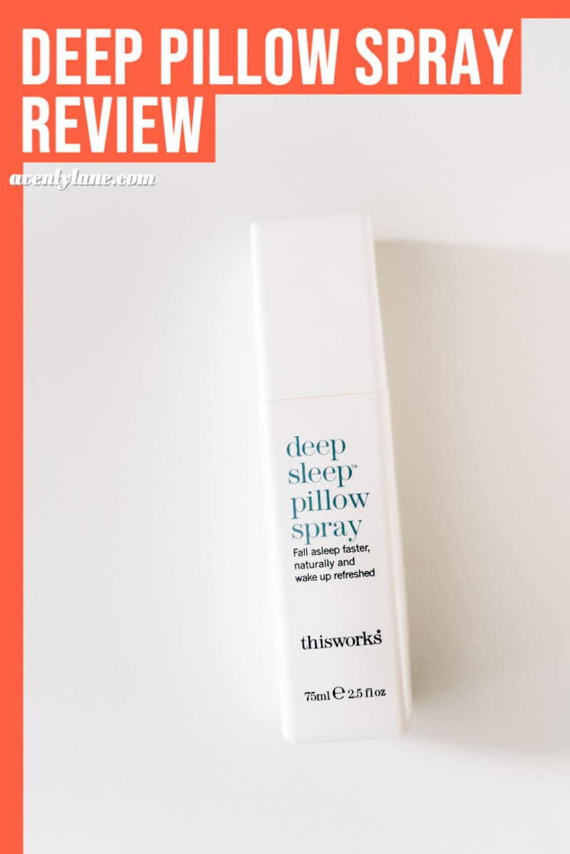 This (Really) Works Deep Sleep Pillow Spray Review