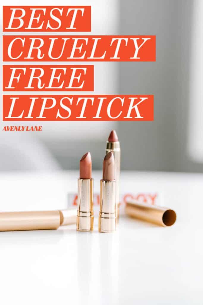 Best cruelty free lipstick